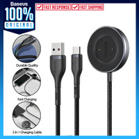 USB Type C & Dock Charging Baseus Cable Charger for Phone Watch Huawei