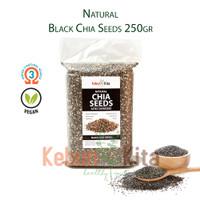 Natural Black Chia Seeds 250gr