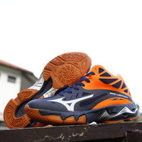 SEPATU VOLLY MIZUNO WLZ WAVE LIGHTNING MADE IN VIETNAM