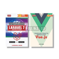 Buku Paket Full Stack Developer Laravel 7 Dan Vue Js