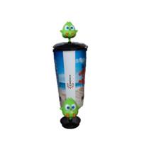 Cinepolis Tumbler GREEN Hal Angry Birds Movie Merchandise 22oz