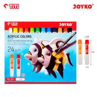 Acrylic Color Cat Akrilik Joyko Titi 12ml - 24 Warna