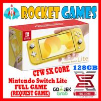 Nintendo Switch Lite CFW Full Game YELLOW