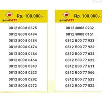 Nomor Cantik telkomsel simpati 0812 800 seri urut abba 8008 0484 ibm10