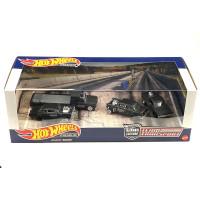 Hot Wheels Team Transport Black Hole Gasser Set Premium Diorama