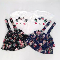 Miiko Ruffle Overall / Overall Bayi Perempuan / Baju Bayi Perempuan