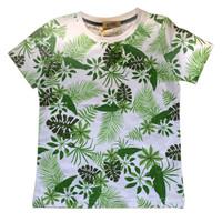 Boy T-Shirt with Leaf Printed - MOEJOE