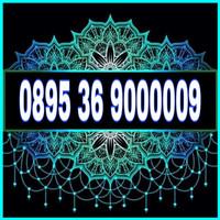Nomor cantik kartu TRI 3 THREE 4G panca 00000