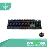 keyboard gaming NYK nemesis ORIGINAL KR-201 game master KR201 / KR 201