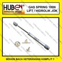 HUBEN Gas Spring Pegas Hidrolik 100N Penutup Jendela Otomatis HUBEN