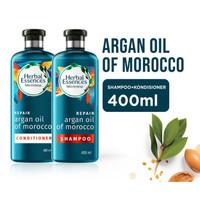 Herbal Essences Argan Oil Morocco Shampoo dan Conditioner 400ml