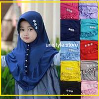 Jilbab Anak Aksen Mutiara (BISA SATUAN)