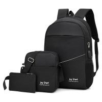 TAS PRIA RANSEL PUNGGUNG ANTI AIR With Slot USB Charger Buy 1 Get 3