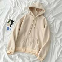 Sweater Hoodie Pria&Wanita Style (BASIC)