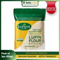 Lupin Flour High Protein Low Carb Tepung Keto LUPINA (454g) (USA)