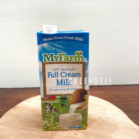 Susu UHT Full Cream Milk MyFarm 1 Liter