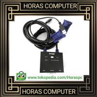 D-Link KVM 221 KVM-221 2-Port KVM Switch with VGA and USB Ports