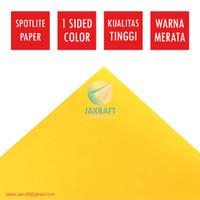 Kertas Karton Warna Kuning Gold 60 x 40 Cm Spotlight Ala ASTURO