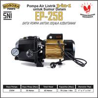 Pompa Air Digital 3in1 Sumur Dalam Multi Fungsi Jet Pump HONORA EP-258
