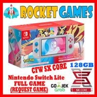 Nintendo Switch Lite CFW Full Game Zacian & Zamazenta