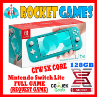 Nintendo Switch Lite CFW Full Game TURQUOISE