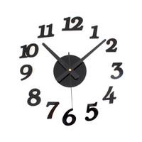 Jam Dinding Giant Wall Clock Quartz Creative Design 30-50cm - DIY-03