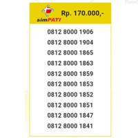 Nomor Cantik telkomsel simpati 0812 800 seri urut 8000 1906 ibm10