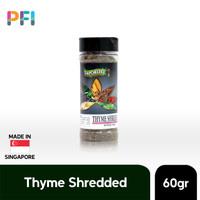 Dried Thyme Shredded Saporito 60g (Daun Thyme Kering Import)