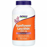 Now Foods Sunflower Lecithin 1200 mg 200 Softgels Now lecithin Ori USA