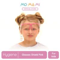 Momami Comfi Face Glasses Shield - Pink (Face Shield Anak)