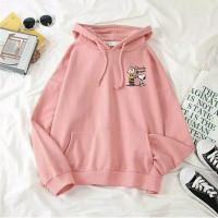 Sweater Hoodie Wanita Style (CHARLIE BROWN)