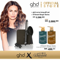 [EXCLUSIVE] ghd Curve Tong Gift Set + O'Sweet Ginger Series