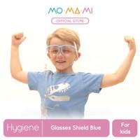 Momami Comfi Face Glasses Shield - Blue (Face Shield Anak)