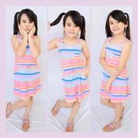 Dress anak import Merk Basic Edutions Size 4-12 Thn