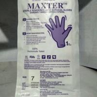 Sarung Tangan Bedah Steril Maxter no. 7