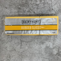 Dairymont Burger Slice Cheese (Red Cheddar) 1 Kg Murah
