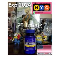 Melatonin 1 mg Puritans Pride Puritan Supplement Tidur Import USA 1mg
