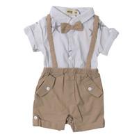 Baby Boy Brown Jumper with Stripe and Star - MOEJOE