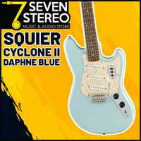 Squier Paranormal Series Cyclone II Telecaster Daphne Blue