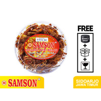 Balado Teri Belah Medan SAMSON 300 gram Teri Sambal Goreng Kacang Bala