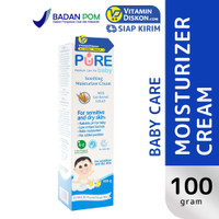 PURE BABY SOOTHING MOISTURIZER CREAM 100 GR