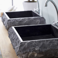 wastafel kotak marmo batu alam marmer