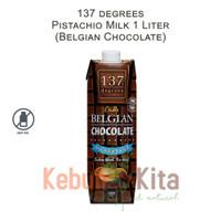 137 degrees Pistachio Milk with Belgian Chocolate 1 Liter