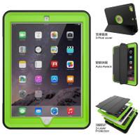 iPad Air 2 Hybrid Heavy Duty Shockproof Smart Flip Case / Cover 360