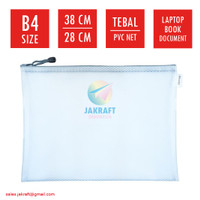 Zipper Document Bag B4 JOYKO DCB-46 Laptop Buku Dokumen File F4 & A4