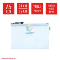 Zipper Document Bag A5 JOYKO DCB-46 Buku Tulis Binder Note Notebook