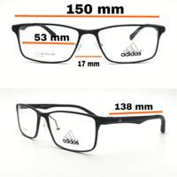 frame kacamata besar pria free lensa minus/plus/silinder Adidas