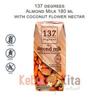 137 degrees Almond Milk with Coconut Flower Nectar 180ml