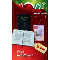 ALKITAB YUNANI- INDONESIA MURAH/ KADO NATAL MURAH/ PAKET INDO- YUNANI