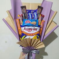 Stalia - Snack Bouquet/Buket Snack - Lilac